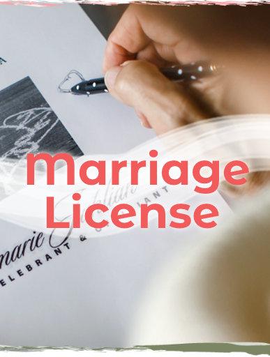 Marriage License by Annemarie Juhlian